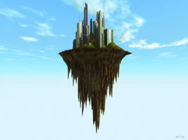 Floating Island by DudQuitter