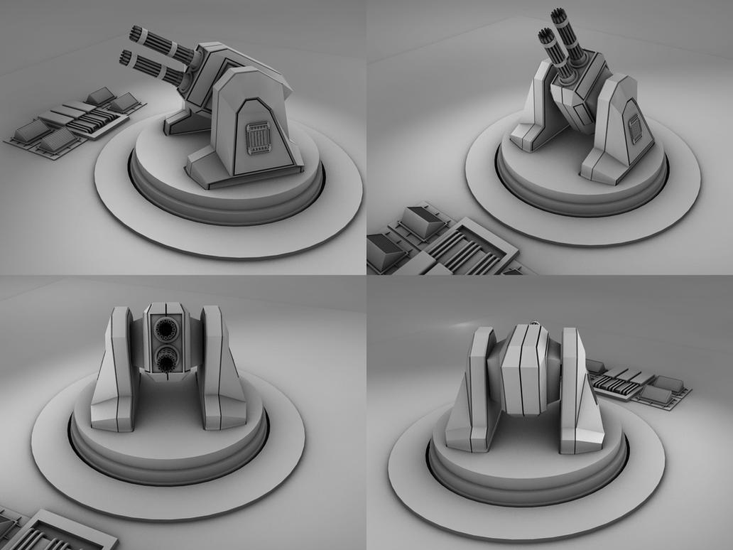 Point Defense Turret by DudQuitter