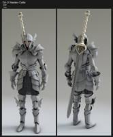 Callia Armor base mesh WIP by DudQuitter