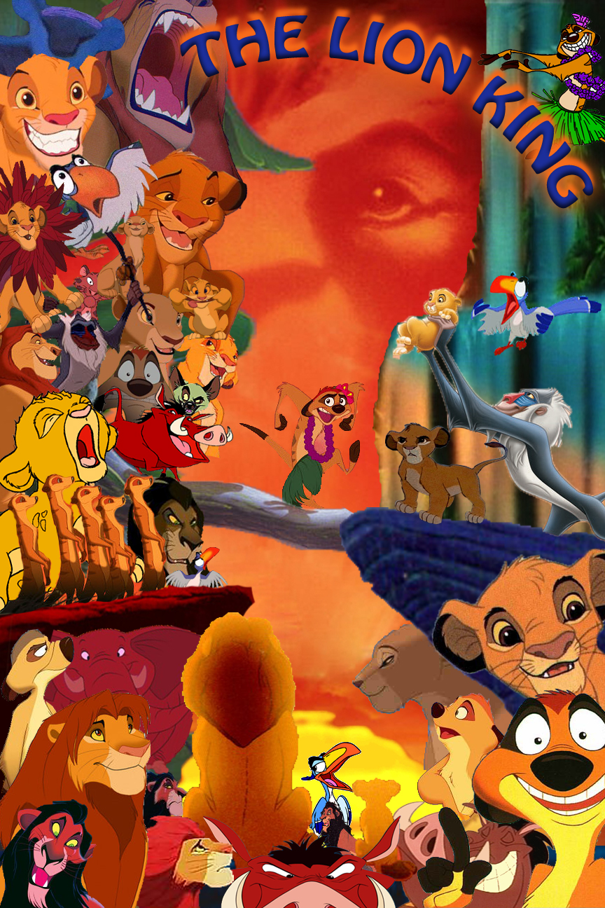 THE LION KING COLLAGE by BamBina-18 on DeviantArt