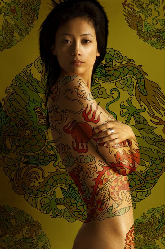 tattoo of dragon