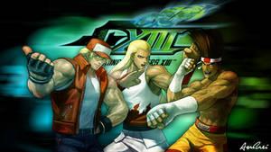 KOF XIII: Fatal Fury Team by AioriAndrei