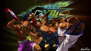 KOF XIII: Kim Team by AioriAndrei