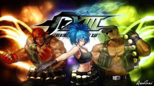 KOF XIII: Ikari Warriors Team by AioriAndrei