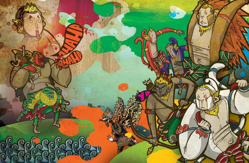 WKC : Spread ramayana by madcat7777777