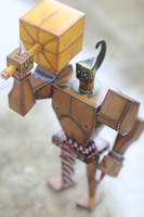 Warkudoro-Papertoys by madcat7777777