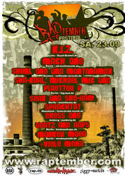 Raptember 2006 Flyer by segtec