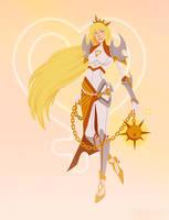Sailor Venus: The Valkyrie by emengel
