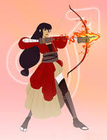 Sailor Mars: The Ranger by emengel