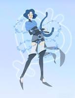 Sailor Mercury: The Bard by emengel
