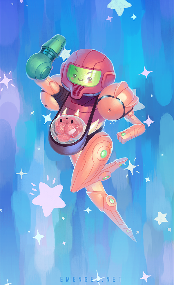 Metroid Mom by emengel