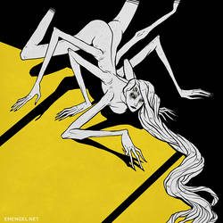 Arachne by emengel