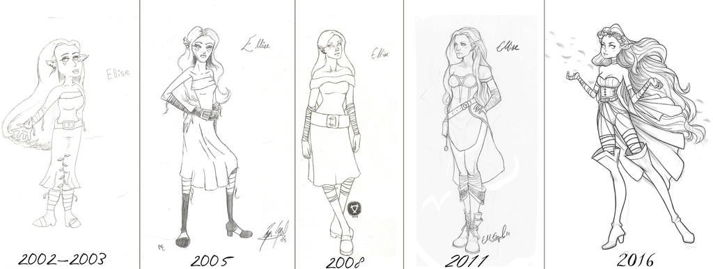 An Artist's Development 2016