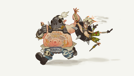 Rat and Hog