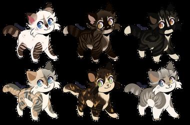 Feline Adopt Batch 16 | OPEN by GentleAdopts