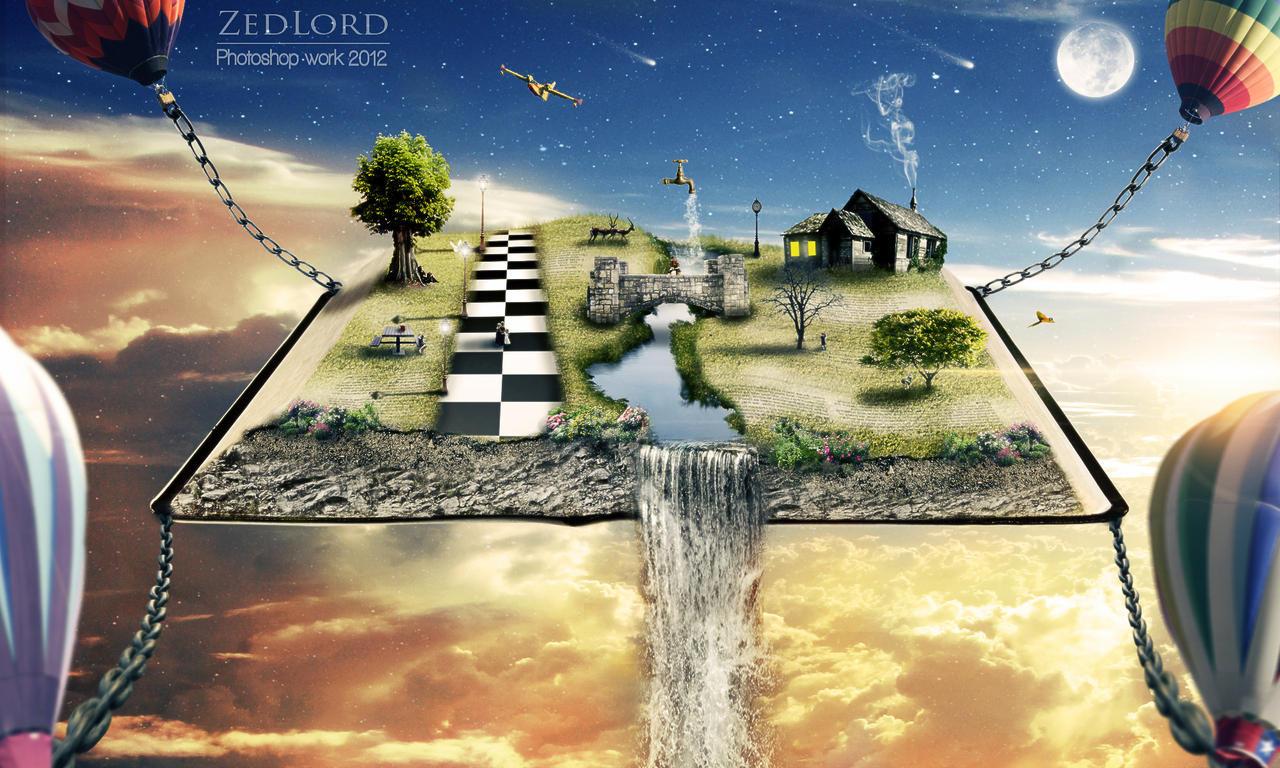 Imaginary World By Zedlord Art On Deviantart