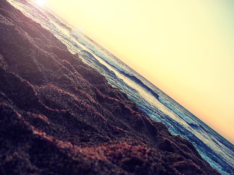 sunset beach by ZedLord-Art