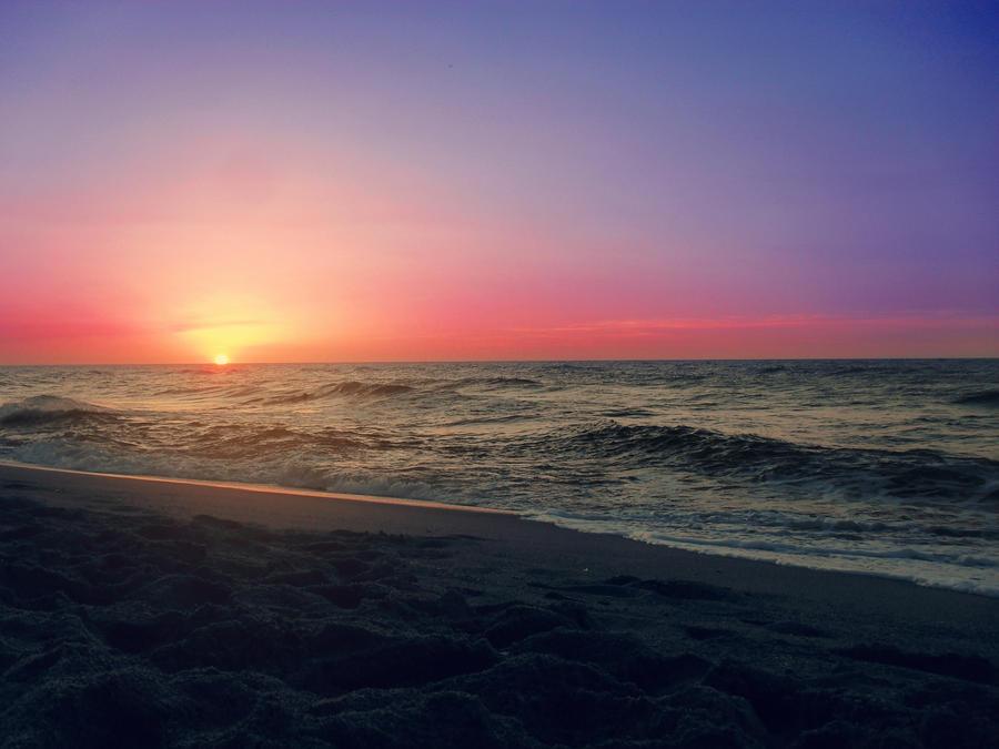 Sunset Beach2 by ZedLord-Art