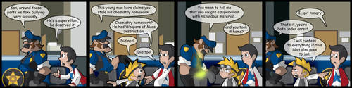 Super Skooled 35-Under Arrest by Cartoonicus