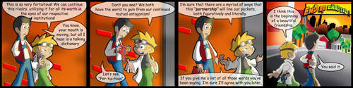 Super Skooled 39-Frenemies by Cartoonicus
