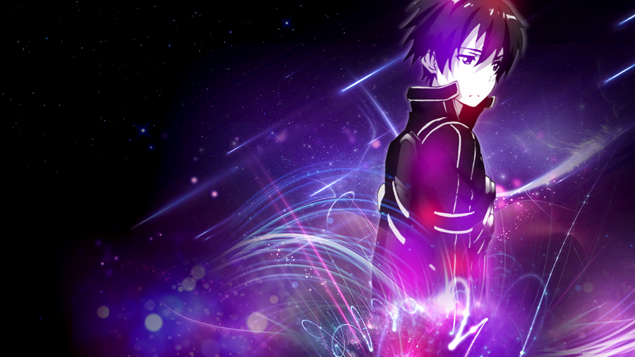 Sword Art Online Kirito Wallpaper FREE by DieVentusLady on ...