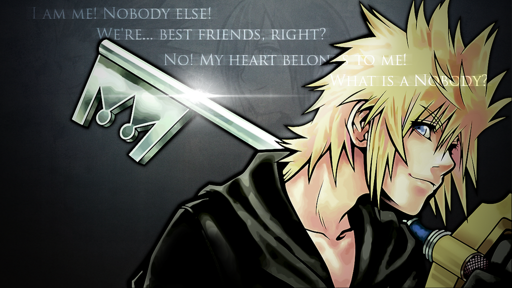 KINGDOM HEARTS Roxas Wallpaper By DieVentusLady On DeviantArt
