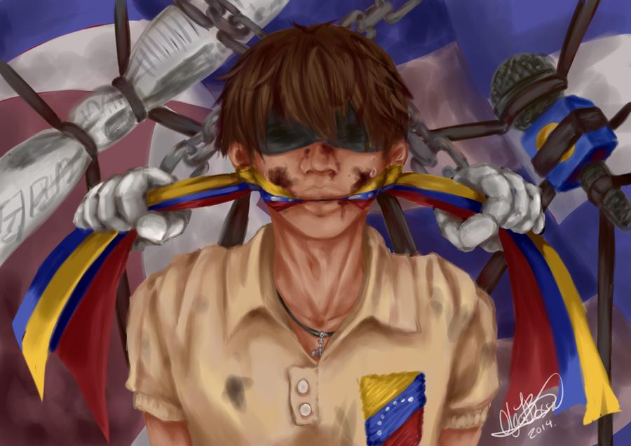 REPRESSION AT VENEZUELA. by Tai-Koo