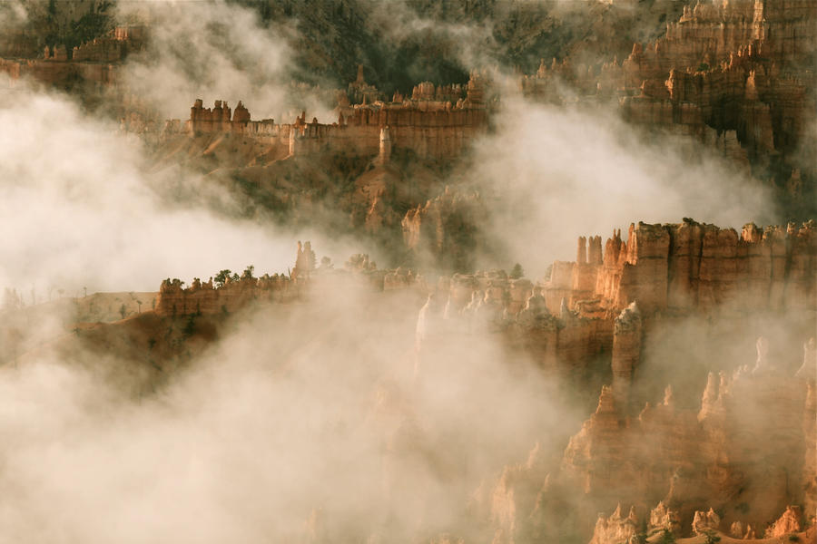 Castles in the Sky, Bryce by Zrobway