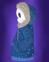 UT: Sans' Sweater by hay-lin10101