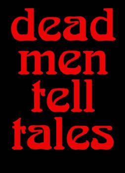 3 Dead Men Tell Tales Logo Red