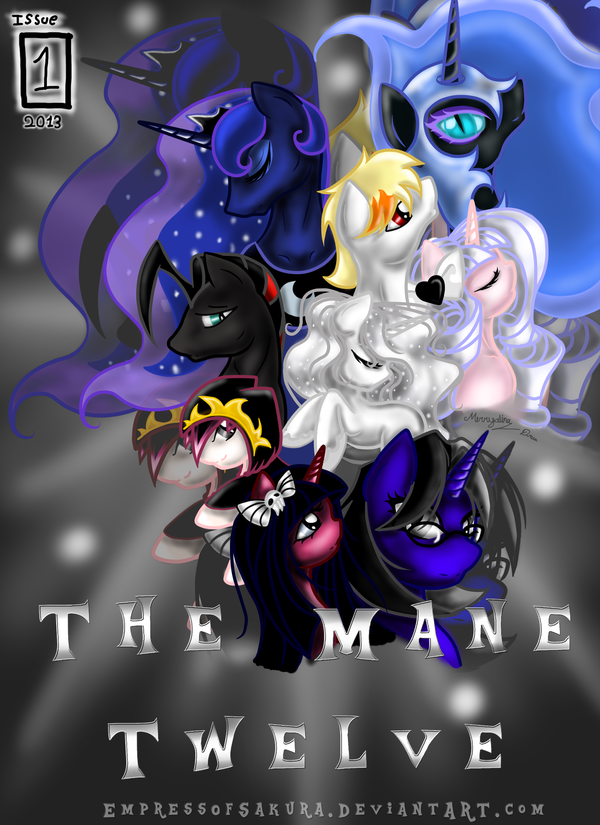 Mane Twelve by ponydesigner