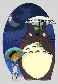 - Totoro and me -