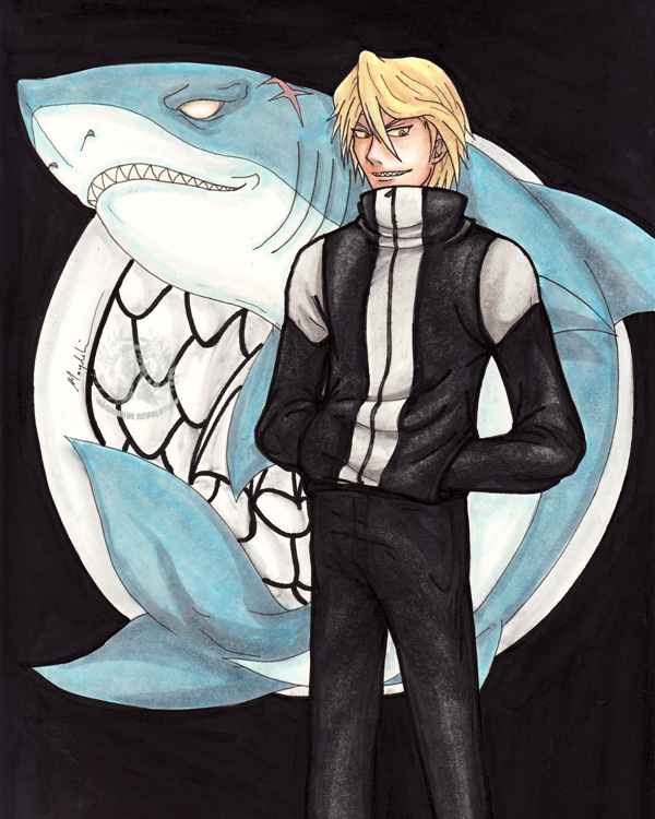 Tus personajes de anime favoritos - Página 3 SnH__Shark_Fujishiro_by_masamunerevolution