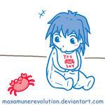 YGO 5Ds: baby Bruno XD by MasamuneRevolution