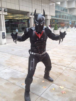 Batman Beyond Cosplay 2nd concept