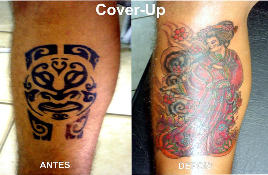 Maori Tattoo Cover Up: Cover Up Maori Sloppy By BixoTattoo On DeviantArt