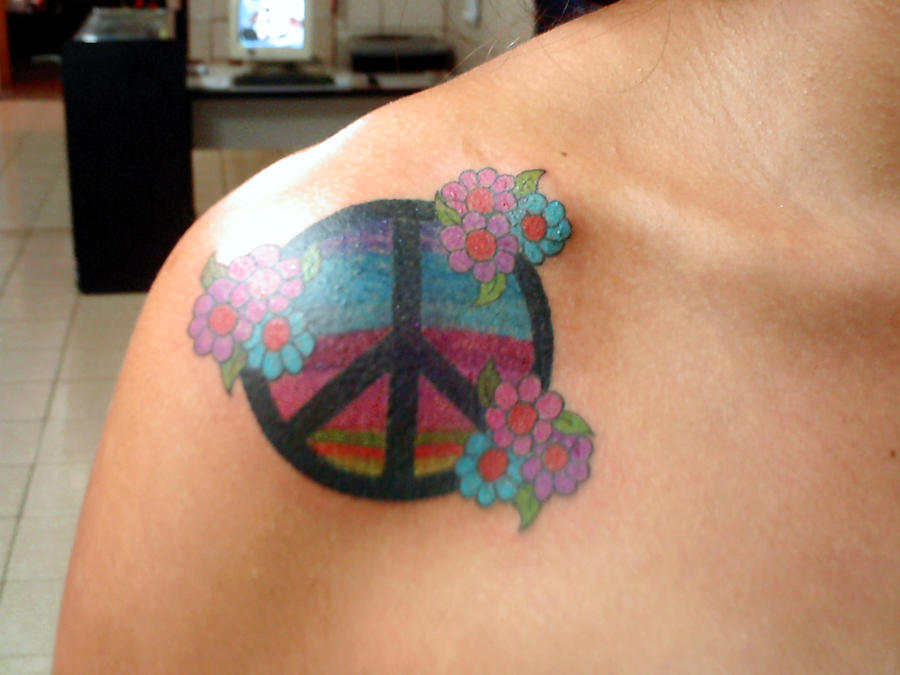 symbol peace and by bixotattoo on deviantart