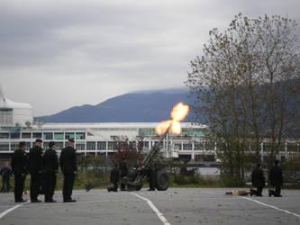 :21 gun salute: by wunaznbabi