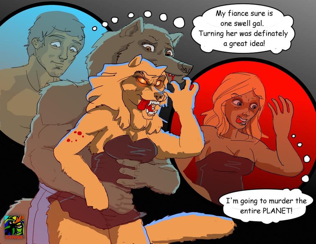 Good Idea Werewolf Couple TF by Cayuga