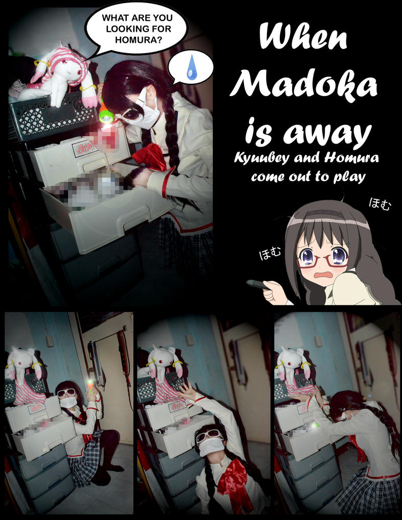 When Madoka is Away by CelesRicolne
