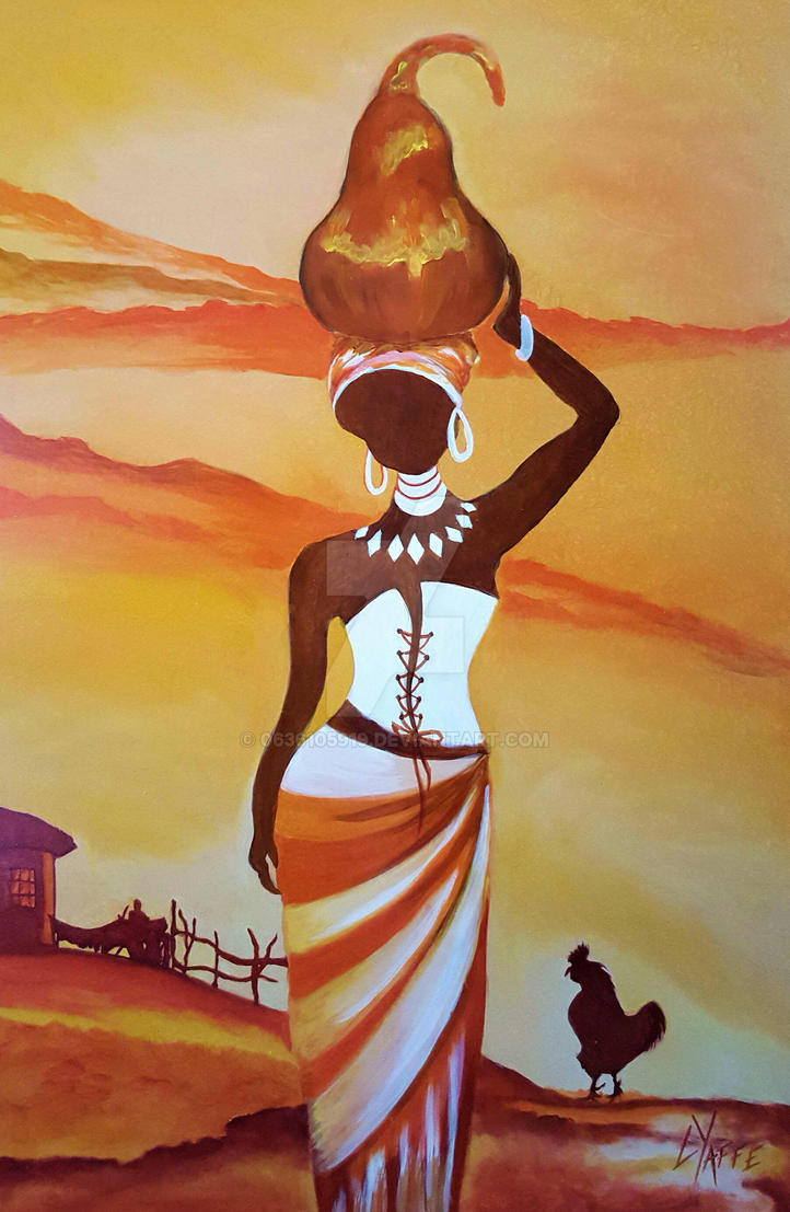 African Art Painting Techniques