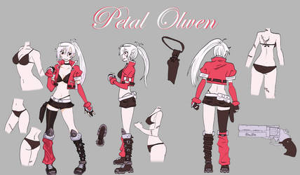 Petal Olwen - Character Reference by DannyPhoenix0013