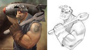 Steam Gunner Schmidt - BAA