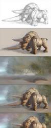 Materospanodon - Steps and BAA by Kai-S