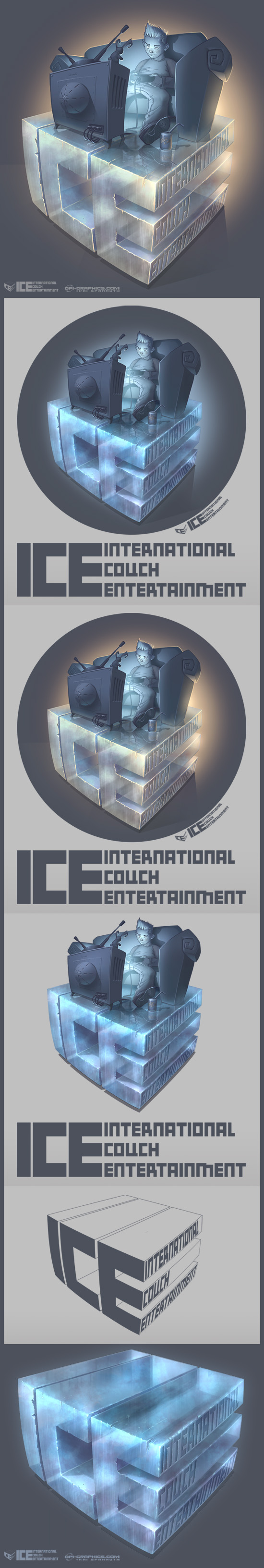 ICE Logo - variant versions by Kai-S