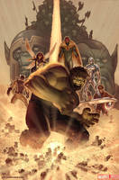What If? World War Hulk Cover by Kai-S