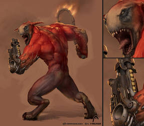 First Serve Hellraiser - v2 by Kai-S