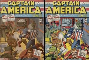 Captain America Comics 1 - baa by Kai-S