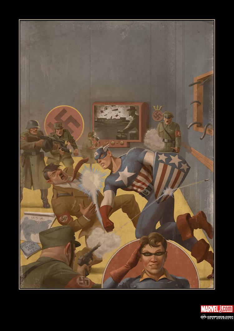 Captain America Comics 1 by Kai-S