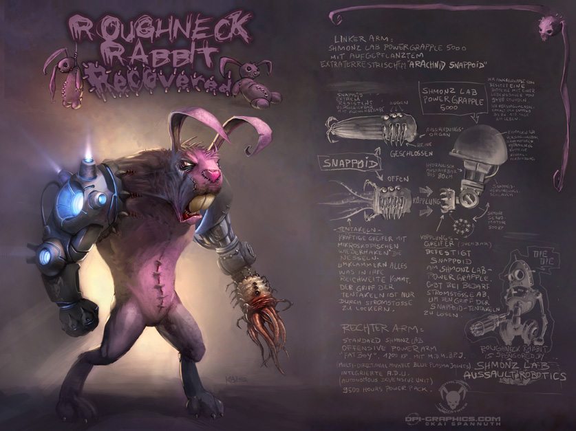 Roughneck Rabbit RECOVERED by Kai-S